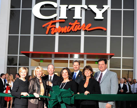 City Furniture Raises 37 000 For Hospice By The Sea Fau At Grand Opening Boca Raton News