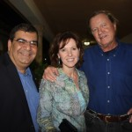 Douglas Heizer, Carla Powers, and Skip Sheffield