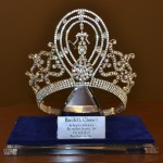 Miss Universe crown, designed by Harold Glasser