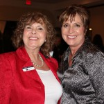 Nancy Deatley of First Citizens Bank and Beth Johnston, IOM, Executive Vice President of the Greater Boca Raton Chamber of Commerce.