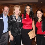 From left, Mark and Jayne Scala (Ultimate Staffing), Dr. Chere R. Lucas Anthony (The Rendon Center for Dermatology and Aesthetic Medicine) and Kelly Boyle (Ameriprise Financial).