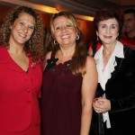 From left are Linda Gove, Ioana Grigore and Penny Morey