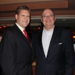 Troy M. McLellan, left, President & CEO of the Greater Boca Raton Chamber of Commerce and Forrest Heathcott, President, JM&A Group and Executive Vice President, JM Family Enterprises
