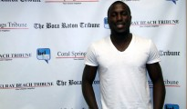 Jozy Altidore at The Boca Raton Tribune offices.
