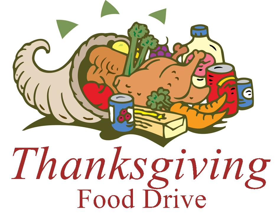 Thanksgiving Food Drive Food List