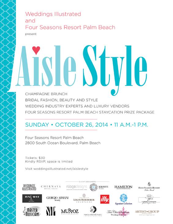 Aisle Syle Invite 2014
