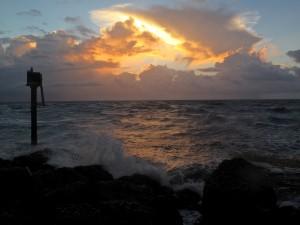Happy  Tuesday - From the South Inlet Beach Courtesy Rick Alovis