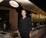 "Joseph ""Skinny Joey"" Merlino at the Boca Raton restaurant that bears his name, where he's maitre d'. Photo by Terry Renna"