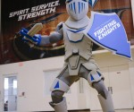 Lynn University New Fighting Knights Mascot