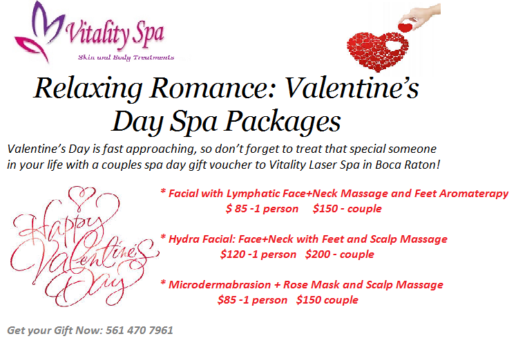 Relaxing Romance Valentine S Day Spa Packages Boca Raton News