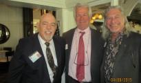 Tiger Bay Club Pres, Barry Epstein, Jeff Brown and David Goldstein