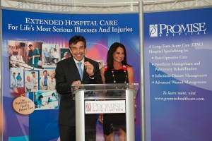 Peter & Carmel Baronoff at Promise Hospital of Fort Myers Opening