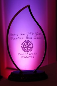 District  6930 2014-2015 Rotary Club of The Year