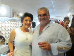 Vanessa Black and David Di Lorenzo