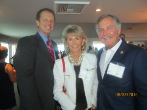 John Kelly,FAU Pres., Pat and Rick Howard of Sklar Furnishings