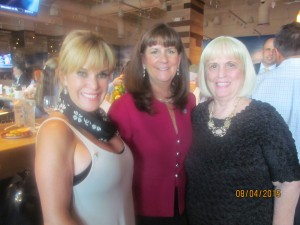 Marza Black, Mayor Susan Haynie and Charlotte Beasley