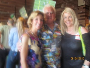 Pam Weinroth with Sharon and Jay DiPietro