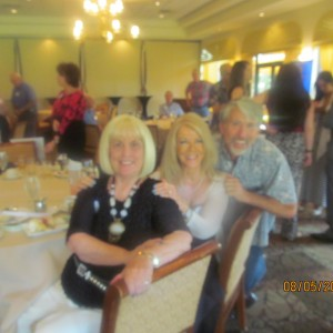 Charlotte Beasley, Sharon DiPietro and Neal Safer