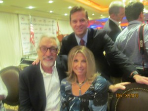 Armand and Gina Grossman and Lt. Gov. Carlos Cantera, Candidate for Senate