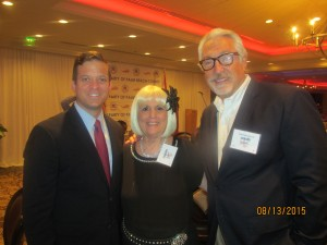 Lt. Gov Cantera, Charlotte Beasley and Boca Rep. Club, Pres. Armand Grossman