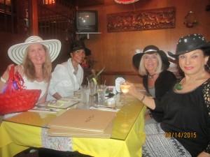 Geralyn Lunsford of Bethesda West, Norka Parodi, Louise Cammerota and Sharon Schornstein