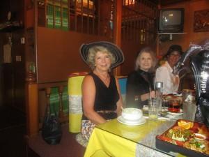 Myra Adams, Marilyn Gardner and Norka Parodi
