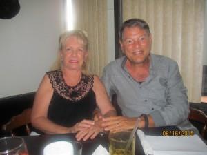 Ellie and William Van der Velden
