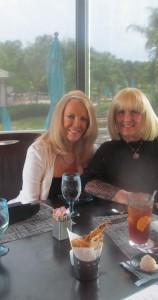 Sharon DiPietro and Charlotte Beasley
