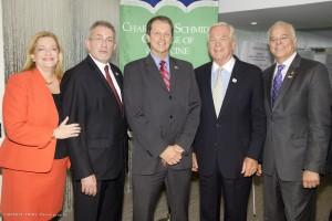 Bonnie Kaye, Dr. David Bjorkman, Dr. John Kelly, Dr. Michael Dennis and Jon Kaye