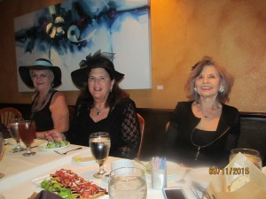 Barbaa Larkin, Dr. Phyllis Perkins and Marilyn Gardner