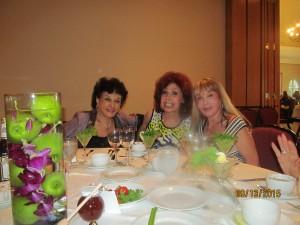 Sharon Schornstein,, Arlene Rubin and Irena Nochenson