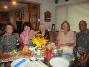 Marie Parkani, Judge Ann Mason Parker, Bettty Corson, Irene Ahern, and Manny Newsome