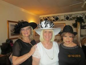 Dona Weinraub, Charlotte Beeasley and Sandi Solomon