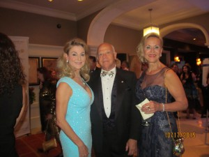 Kim Champion, Dr. Ron Rubin and Lynda Palmer