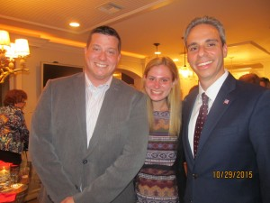 Ryan Hyntuik, Melissa Seda and Boca Council Member, Scott Singer