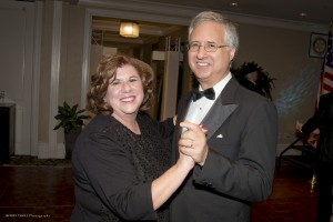 Debbie and County Commissioner Steve Abrams