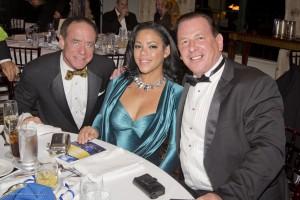 George Brown, Brenda Mardier and Glenn Gromann
