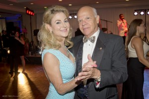 Kim Champion-Stewart and Dr. Ron Rubin