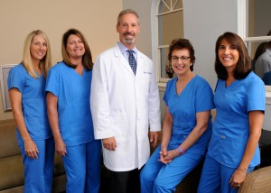 Center-Douglas Rolfe, DDS and staff