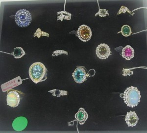 Confiscated jewelry sold at live auction