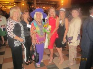 Black Hat Diva's honoring Helene, Dona, Elsa, Charlotte, Helene, Karen and Evalyn