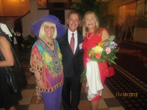 Charlotte Beasley with Steven and Helene Weicholz