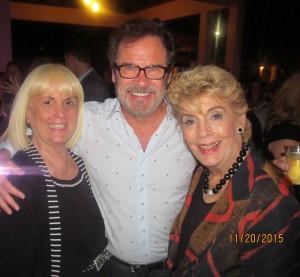 Charlotte Beasley, Comedian Dennis Miller and Yvonne Boice Zucaro