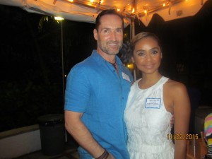 Mark and Michaela Logue