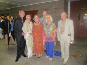Mark and Marilyn Swillenger, Marleen Forkas, Charlotte and Bob Beasley and Jim Morgan