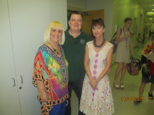 Charlotte Beasley, Dan Guin and Jane Tyree, Co-Directors of the Boca Ballet.