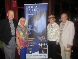 Bob and Charlotte Beasley, Marleen Forkas and Jim Morgan