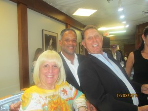 Charlotte Beasley, Michael Ortiz and Ted Steiger