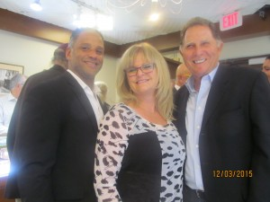 Michael Ortiz, Dona Weinraub and Ted Steiger