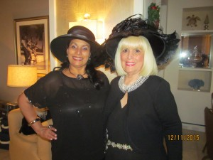 Dini Heizer of Boca Tribune and Charlotte Beasley